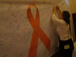 26 International AIDS Candle Light Memorial