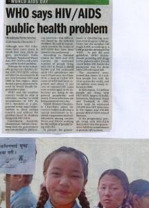 Who says HIVAIDS Public health problem